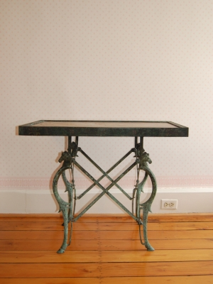 19th-Century Etruscan Bronze Table
